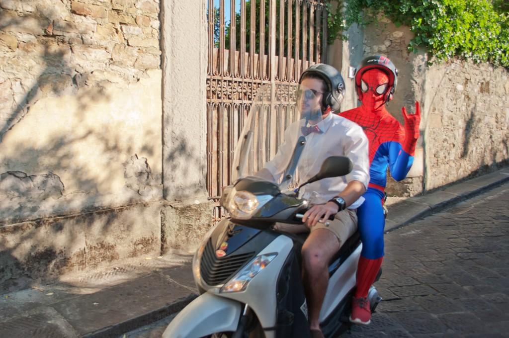 Florencian spider man.