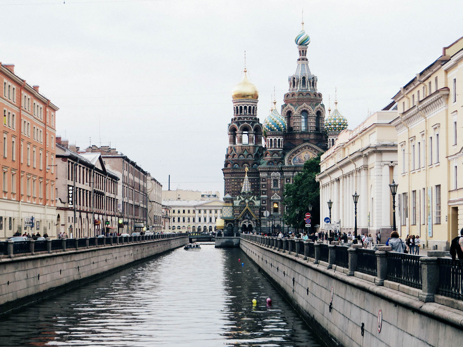 Church of the Savior on Blood on the canal.