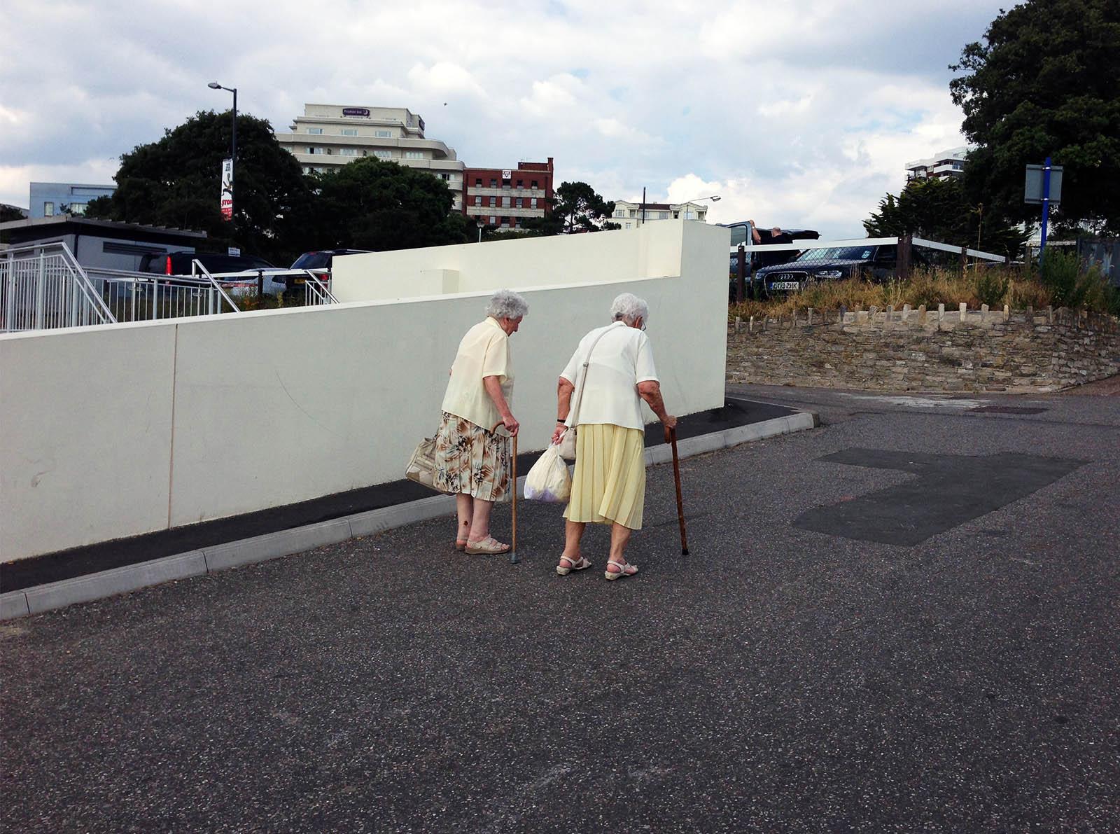 The grannies.