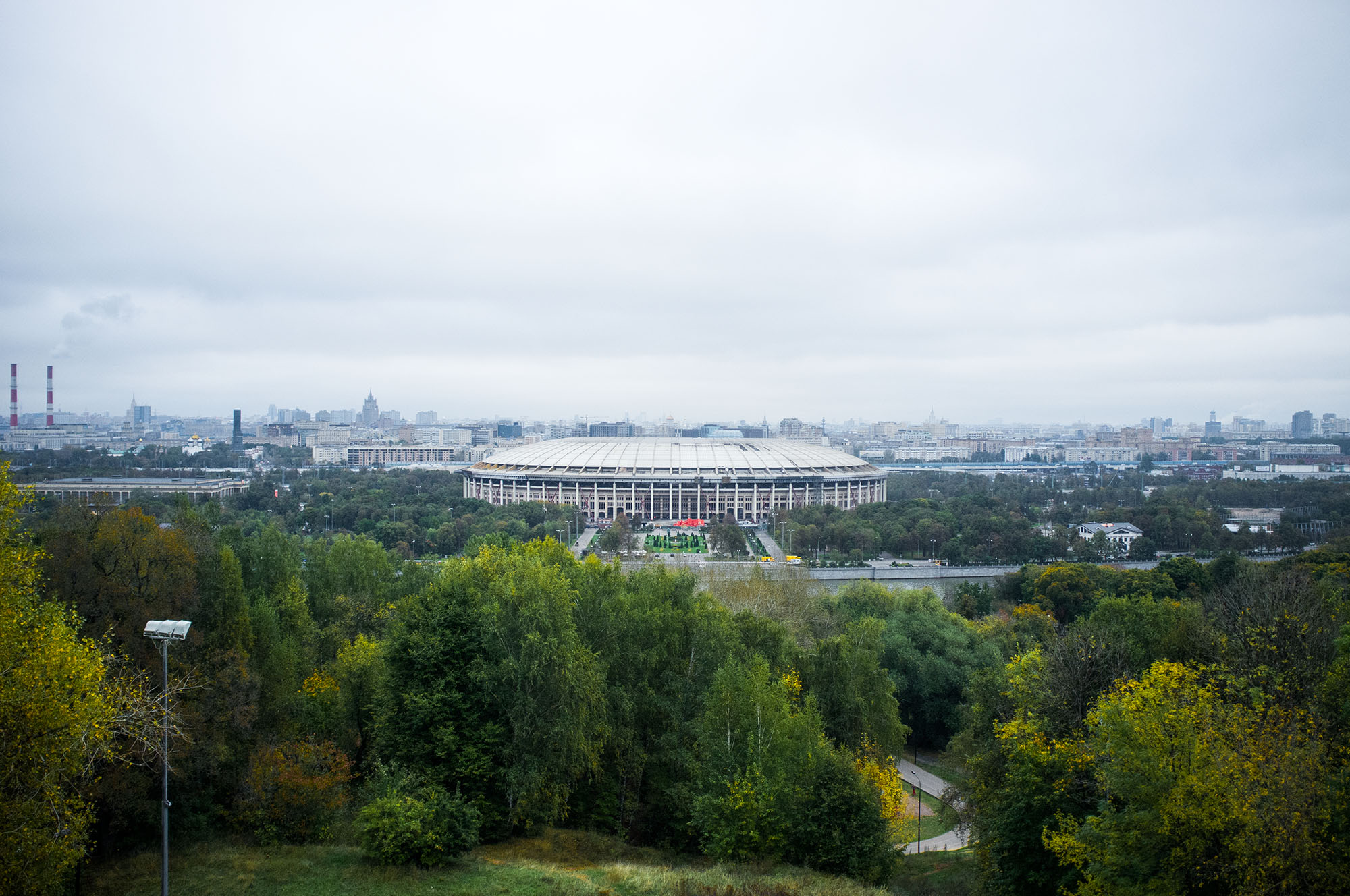 "The ""Luzhniki"" Olympic Complex."