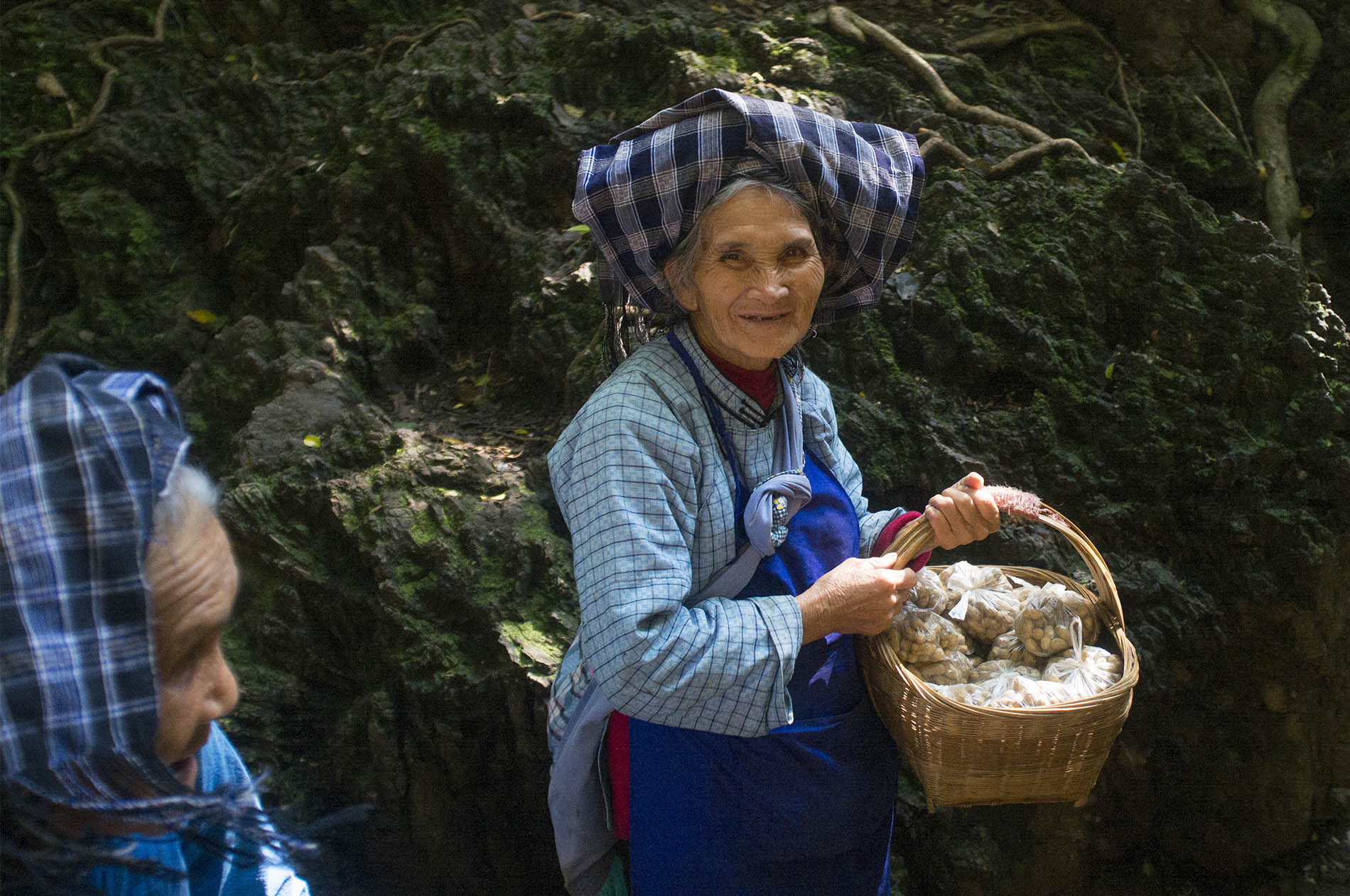 Grandmas selling legal nuts.