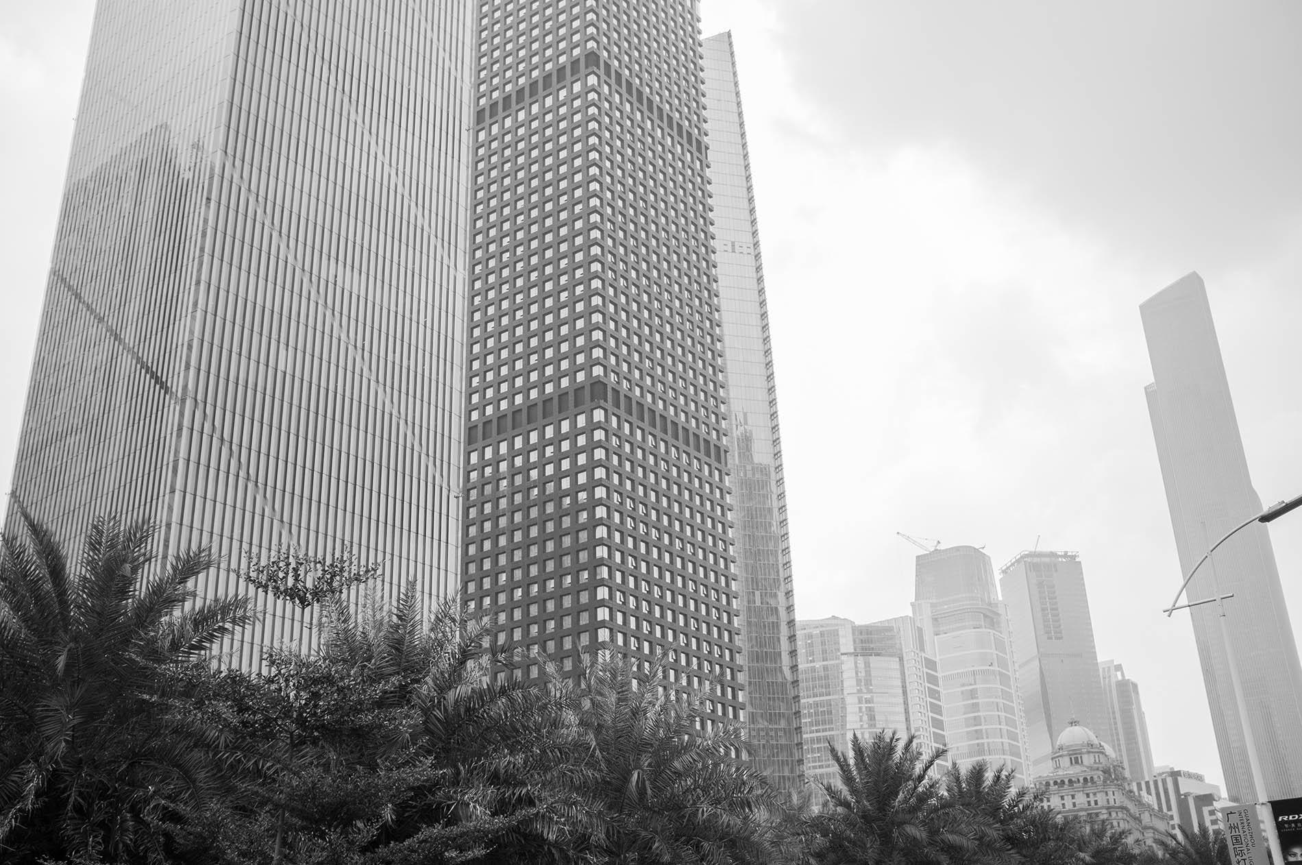 Skyscrapers of Guangzhou.