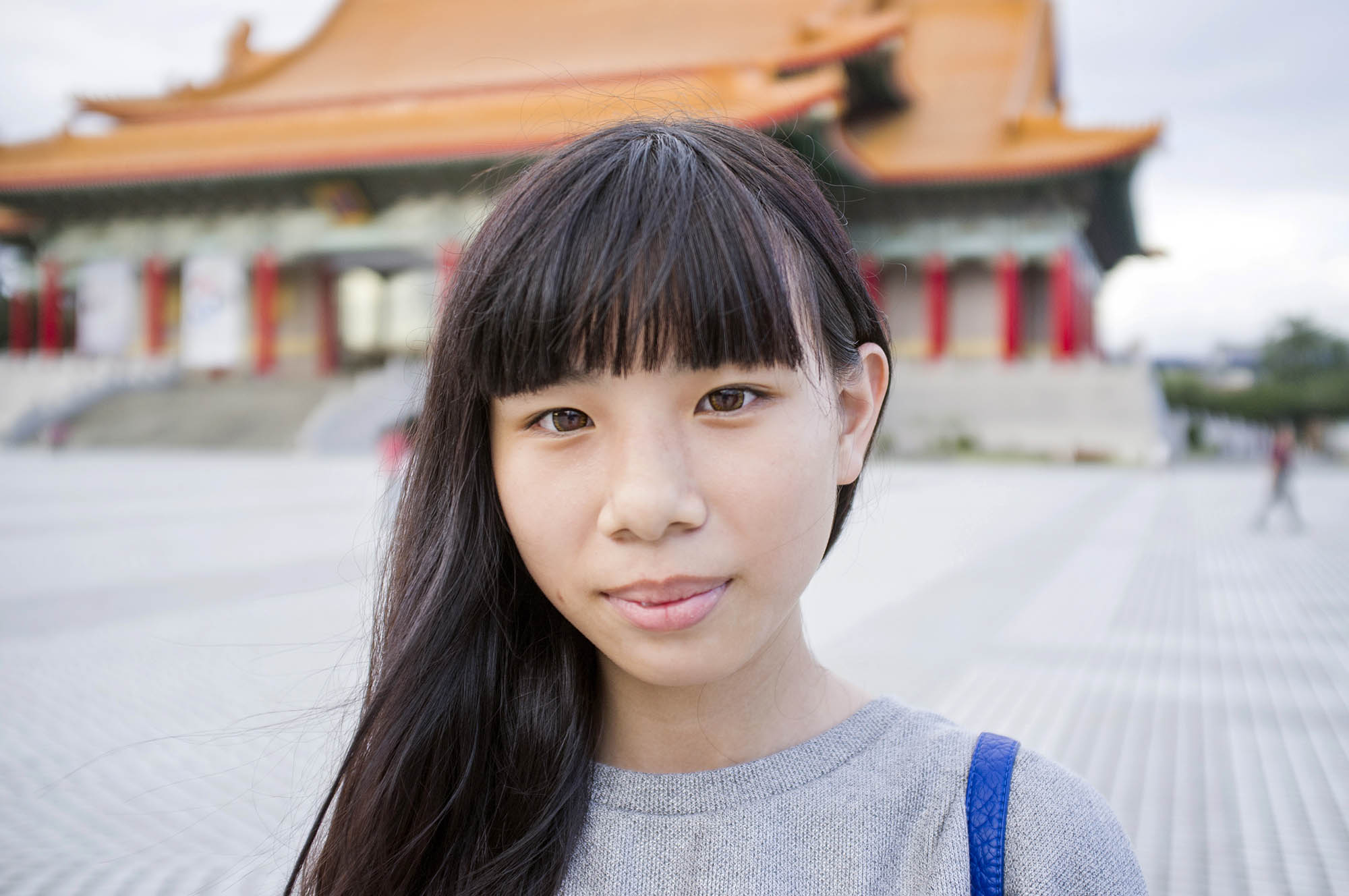 As well as avoiding a sun tan, Chinese women also like to create the illusion of having bigger eyes by wearing contact lenses that make their eyes appear larger.