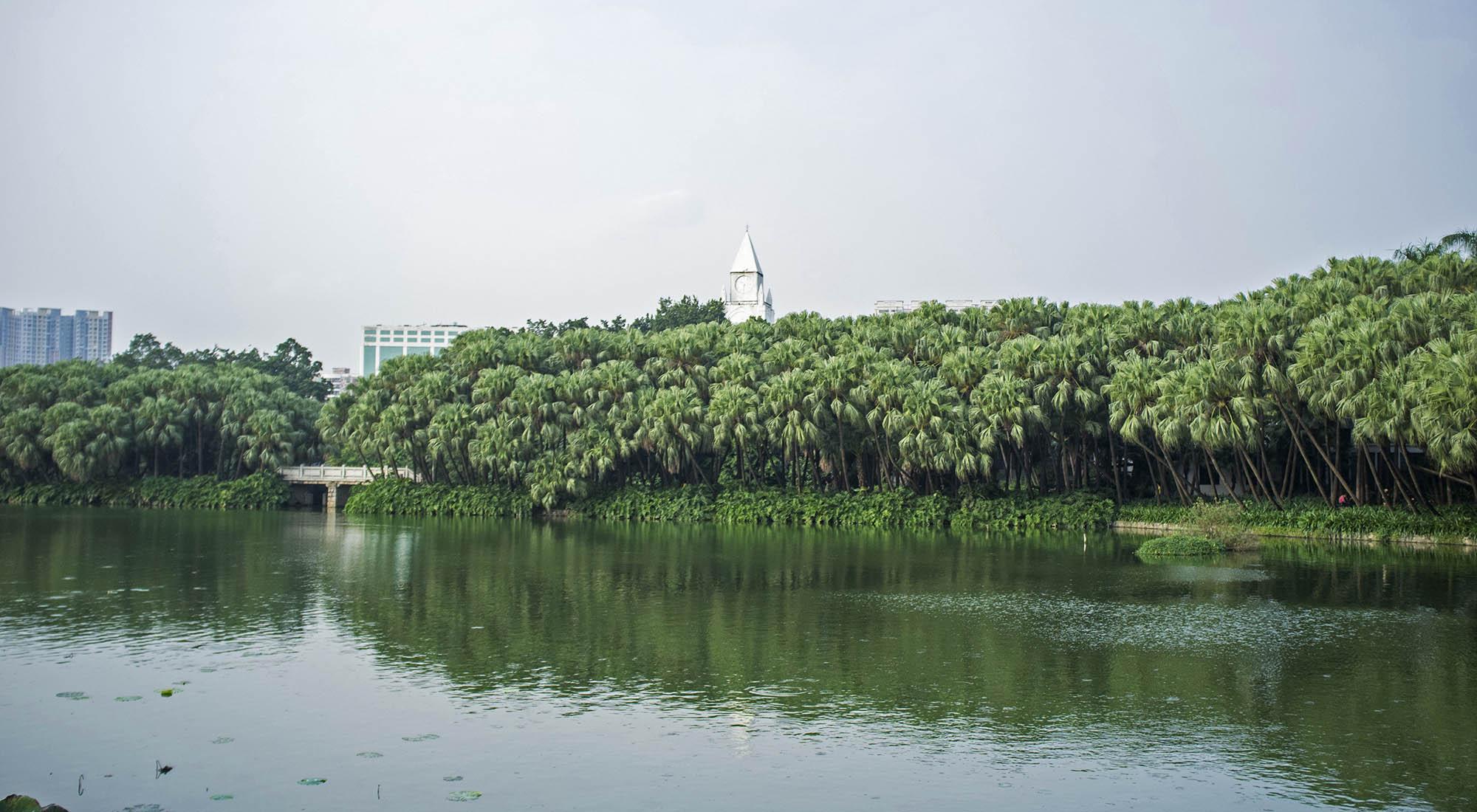 Guangzhou park.