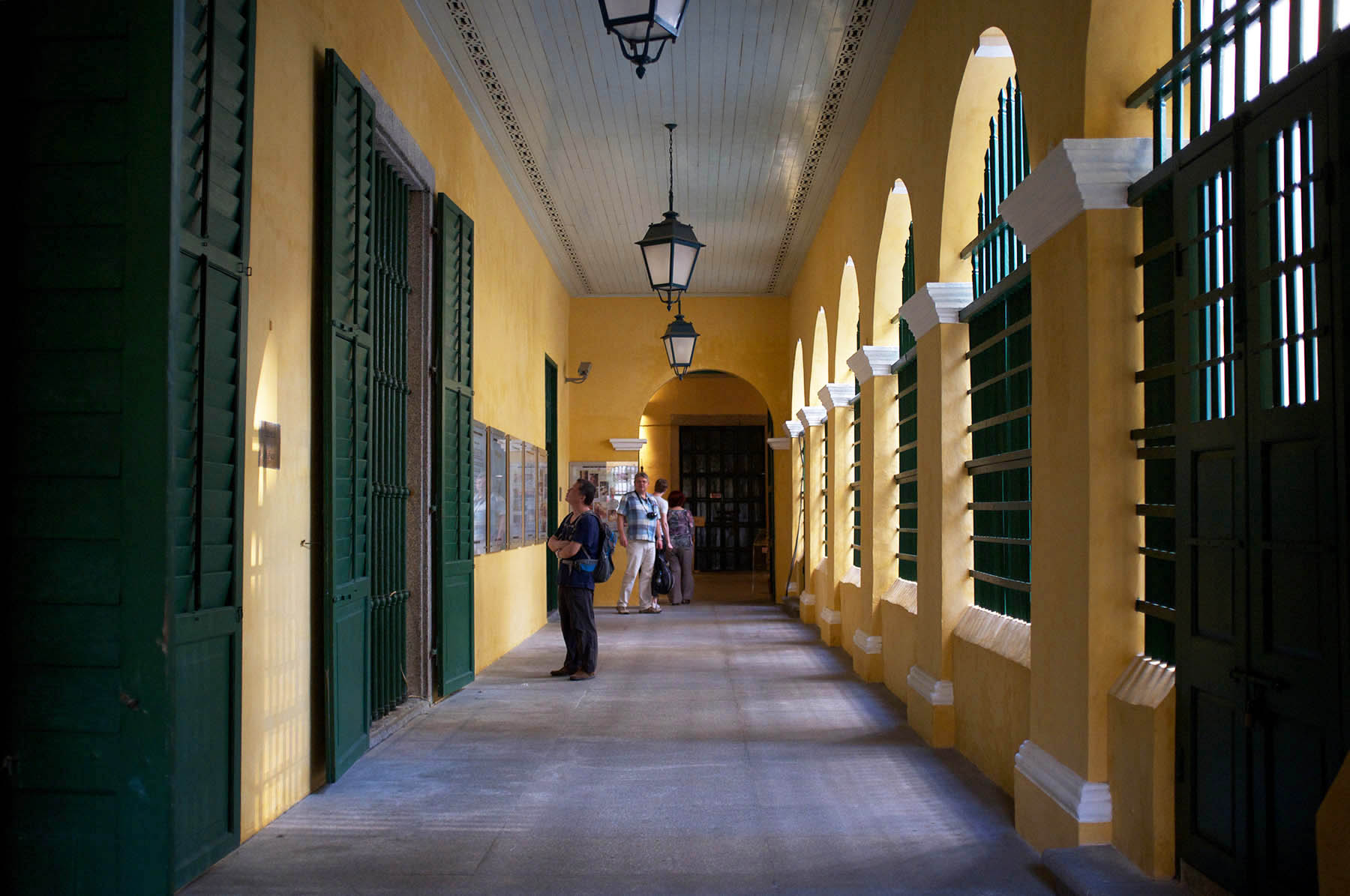 Corridor of St. Dominic's Church.