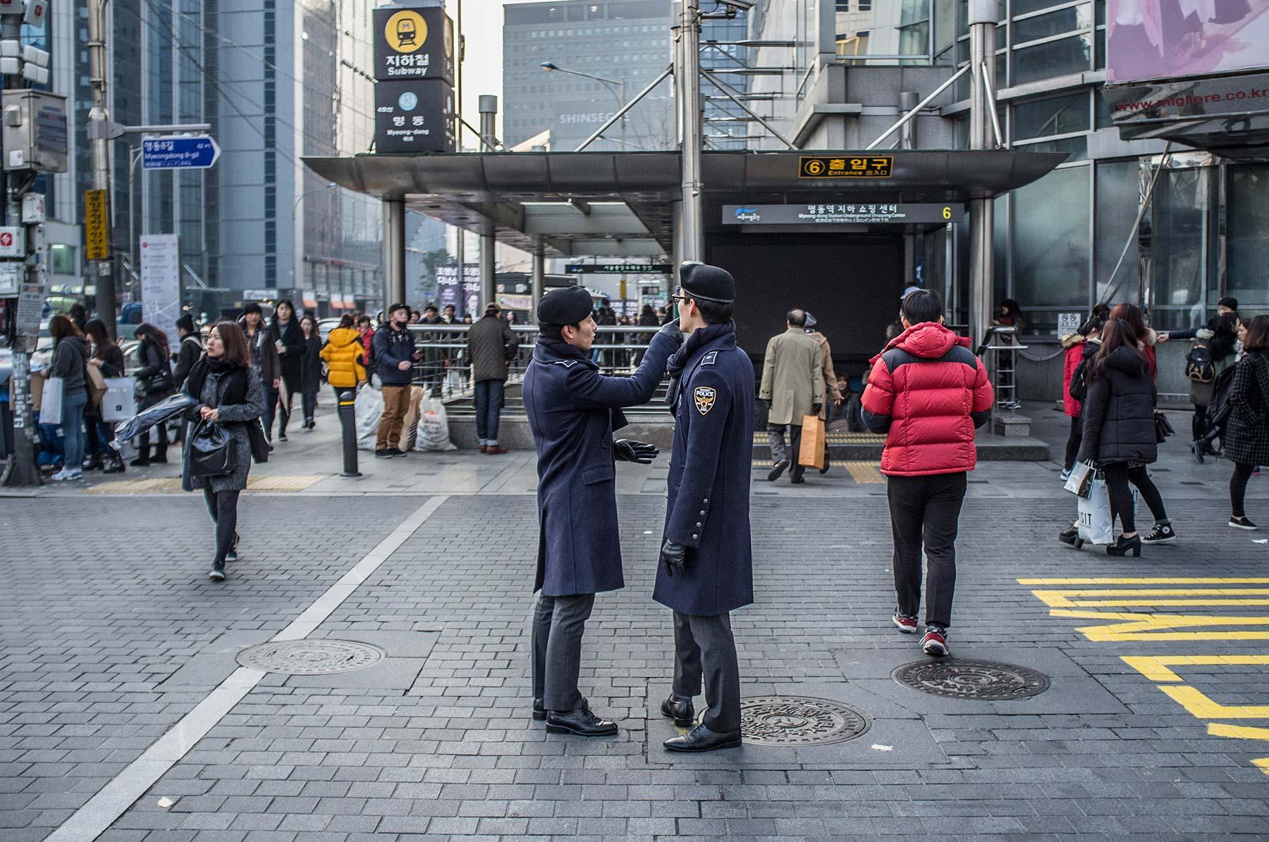 Tourist police.